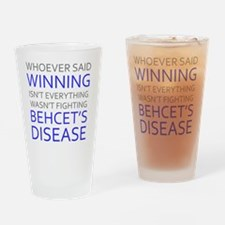 Unique Behcets Drinking Glass