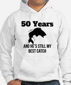 50 Years Best Catch Hoodie