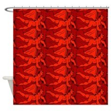 Imp Tessellation Shower Curtain