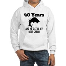 40 Years Best Catch Hoodie