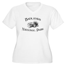 Badlands National Park (Ferret) T-Shirt