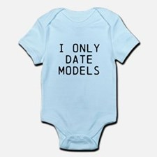 I only date models Body Suit