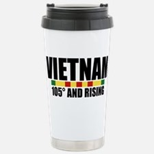 VIETNAM 105 DEGREES AND RISING Travel Mug