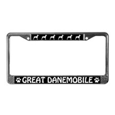 Great Danemobile License Plate Frame