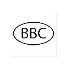 """Bbc Square Sticker 3"""" x 3"""""""