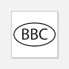 """Cute Bbc Square Sticker 3"""" x 3"""""""