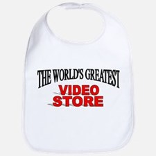 """The World's Greatest Video Store"" Bib"