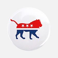 Political Lion Button