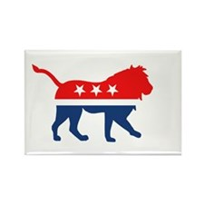 Political Lion Magnets