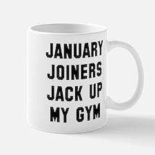 January Joiners Jack Up Gym Mug