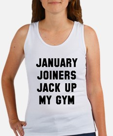 January Joiners Jack Up Gym Women's Tank Top