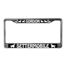Gordon Settermobile License Plate Frame