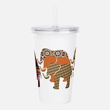 Lots of Elephants Design 4 Acrylic Double-wall Tum