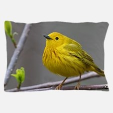 Yellow Warbler Pillow Case