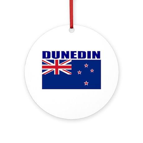Dunedin, New Zealand Ornament (Round)
