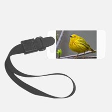 Yellow Warbler Luggage Tag
