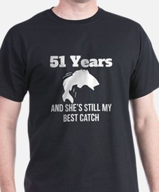 51 Years Best Catch T-Shirt