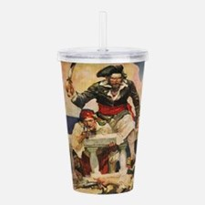 Blackbeard the Buccann Acrylic Double-wall Tumbler
