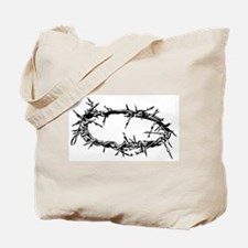 Funny Crown thorns Tote Bag