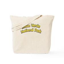 Mesa Verde National Park (Cartoon) Tote Bag