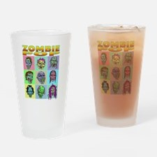 Zombie Pop Drinking Glass