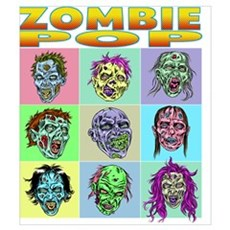 Zombie Pop Framed Print