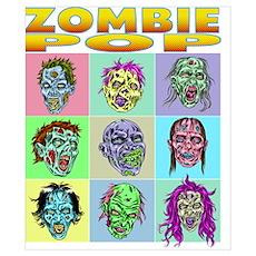 Zombie Pop Poster