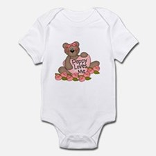 Poppy Loves Me CUTE Bear Infant Bodysuit