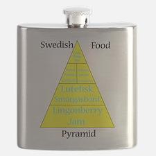 Swedish Food Pyramid Flask