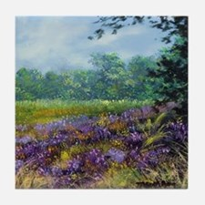 Lavender Tile Coaster