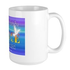 By Grace I Live. By Grace I Am Released. Mugs