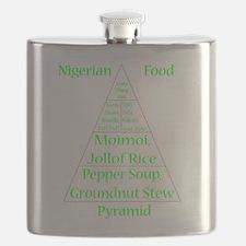 Nigerian Food Pyramid Flask