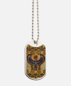 Harvest Moons Egyptian Hawk Dog Tags