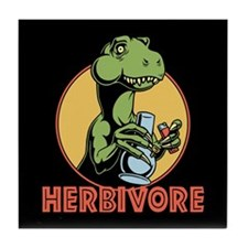 T-Rex Herbivore Tile Coaster