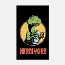 T-Rex Herbivore Decal