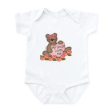 My Uncle Loves Me CUTE Bear Infant Bodysuit