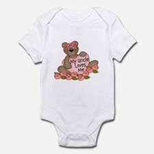 My Uncle Loves Me CUTE Bear Infant Bodysuit