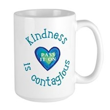 Kindness is Contagious Mugs