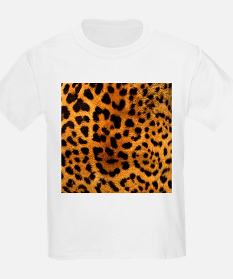 girly trendy leopard print T-Shirt