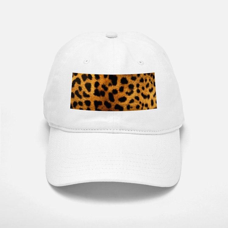 girly trendy leopard print Baseball Baseball Cap