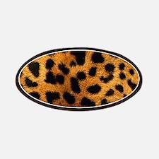 girly trendy leopard print Patch