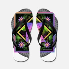 Bold Beautiful K Flip Flops