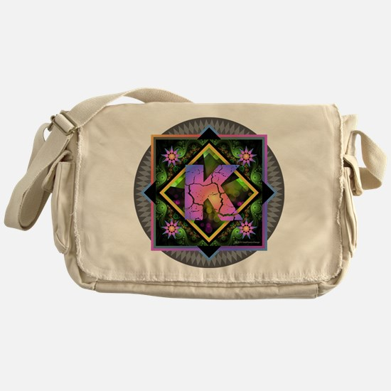 Bold Beautiful K Messenger Bag