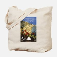 Vintage Amalfi Italy Travel Tote Bag