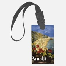 Vintage Amalfi Italy Travel Luggage Tag