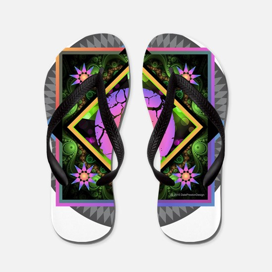 Bold Beautiful O Flip Flops