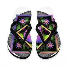 Bold Beautiful P Flip Flops