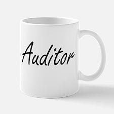 Auditor Artistic Job Design Mugs