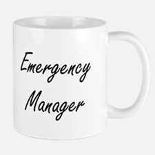 Emergency Manager Artistic Job Design Mugs