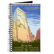 1930s Vintage Zion National Park Journal